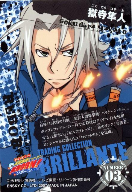Akira Amano, Artland, Katekyo Hitman Reborn!, Katekyo Hitman Reborn!: Trading Collection, Hayato Gokudera