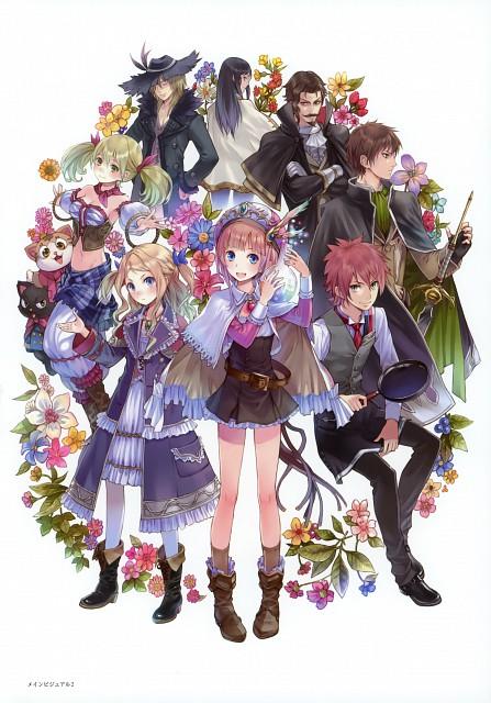 Mel Kishida, Gust, Atelier Rorona & Totori Art Book, Atelier Rorona, Rororina Frywell