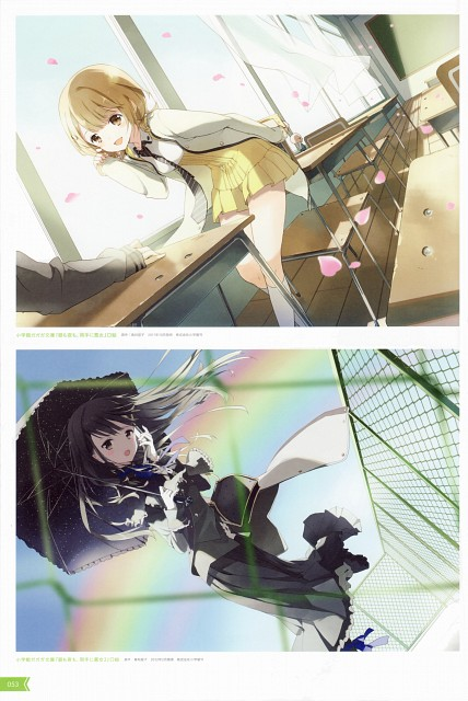 Tiv, Atelier Tiv, Hiru mo Yoru mo Ryoute ni Akujo, Girls Symphony - Tiv Illustrations, Tsukuyo Hatagaya