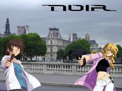 Noir, Kirika Yuumura, Mireille Bouquet Wallpaper