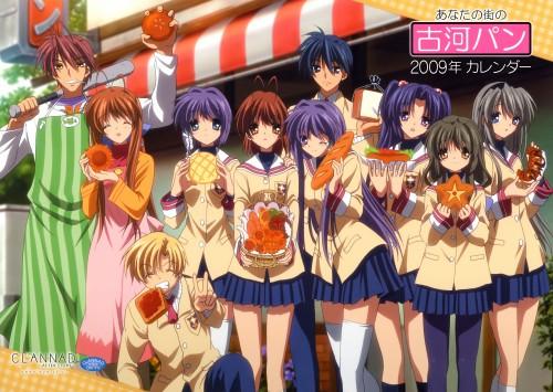 Clannad, Sanae Furukawa, Kotomi Ichinose, Akio Furukawa, Tomoyo Sakagami