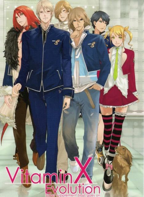 Hirotaka Maeda, D3 Publisher, Vitamin X, Shun Nanase, Mizuki Madarame