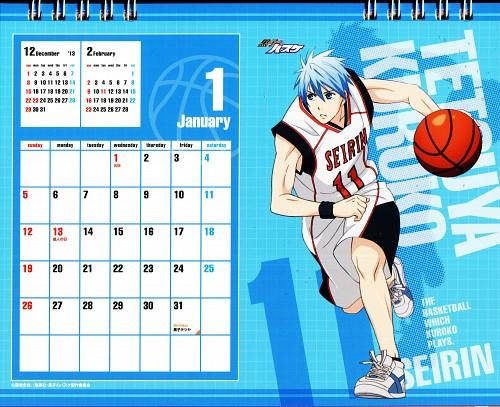 Tadatoshi Fujimaki, Production I.G, Kuroko no Basket, Kuroko No Basket Calendar 2014, Tetsuya Kuroko