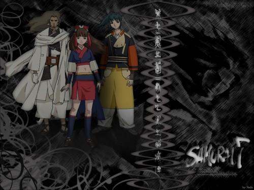 Gonzo, Samurai 7, Shimada Kambei, Kirara (Samurai 7), Okamoto Katsushiro Wallpaper