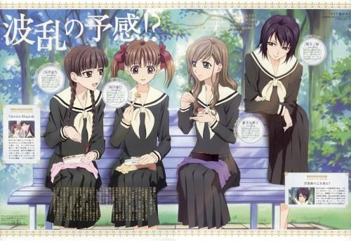 Hiromitsu Hagiwara, Maria-sama ga Miteru, Yumi Fukuzawa, Shimako Toudou, Shizuka Kanina