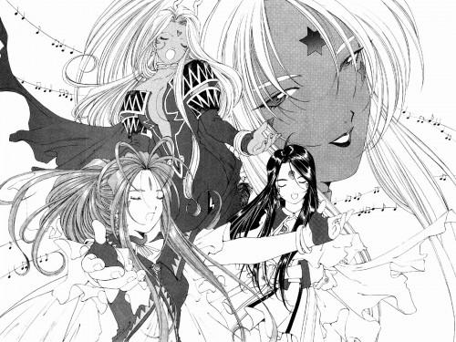 Kousuke Fujishima, Anime International Company, Ah! Megami-sama, Hild, Skuld