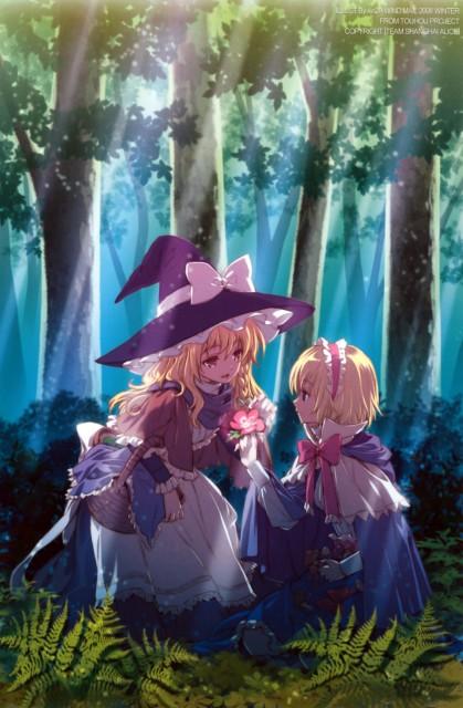 An2a, Petite Fatal 2nd, Touhou, Marisa Kirisame, Alice Margatroid