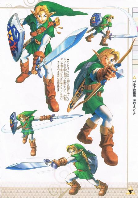 Nintendo, The Legend of Zelda: Ocarina of Time, The Legend of Zelda, Link