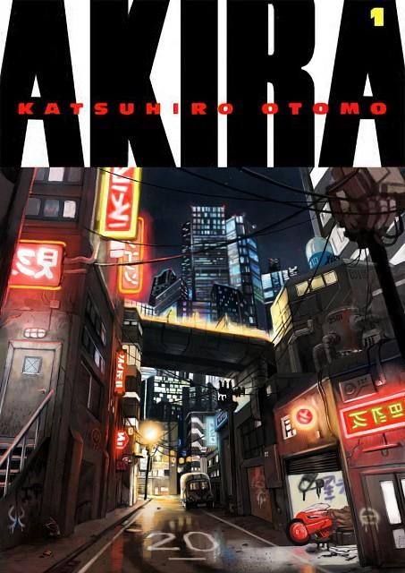Katsuhiro Otomo, Akira, Manga Cover