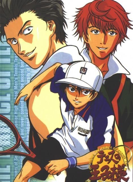 Takeshi Konomi, J.C. Staff, Prince of Tennis, Ryoma Echizen, Jin Akutsu