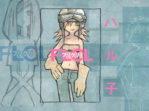 Yoshiyuki Sadamoto, Gainax, FLCL, Haruko Haruhara Wallpaper