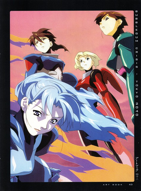 Anime International Company, Bubblegum Crisis, Girls - Artbook VI, Nene Romanova, Linna Yamazaki