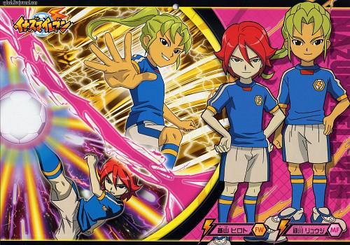 Tenya Yabuno, OLM Digital Inc, Inazuma Eleven, Ryuuji Midorikawa, Hiroto Kiyama