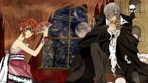 Matsuri Hino, Vampire Knight, Yuuki Cross, Zero Kiryuu, Vector Art Wallpaper