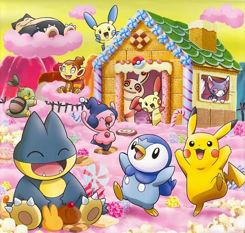 OLM Digital Inc, Nintendo, Pokémon, Pikachu, Minun