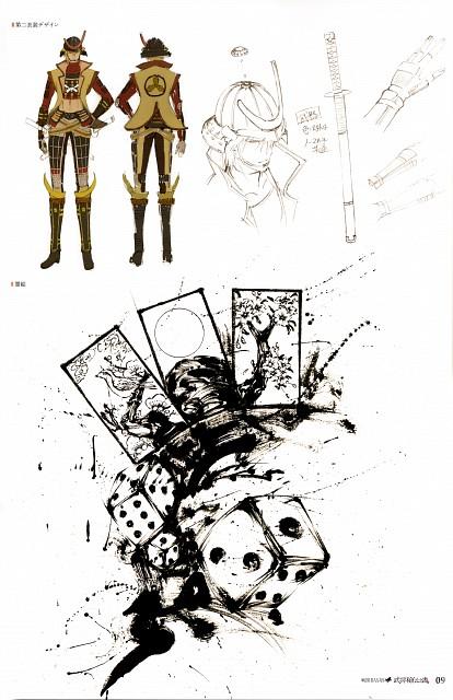 Yuki Nishimoto, Production I.G, Capcom, Sengoku Basara, Sakon Shima (Sengoku Basara)