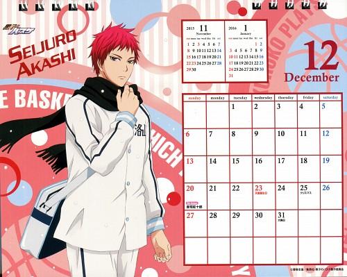 Tadatoshi Fujimaki, Production I.G, Kuroko no Basket, Kuroko No Basket Calendar 2015, Seijuro Akashi