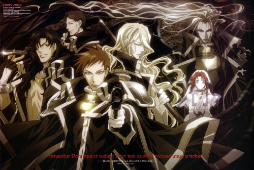 Atsuko Nakajima, Trinity Blood, Tres Iqus, Esther Blanchett, William Walter Wordsworth