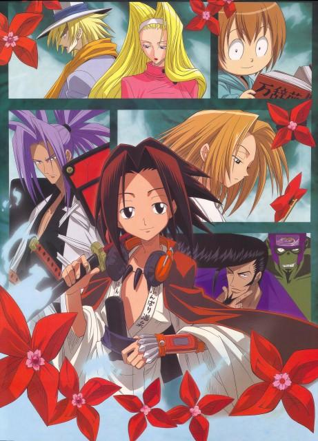 Hiroyuki Takei, Xebec, Shaman King, Anna Kyouyama, Eliza (Shaman King)