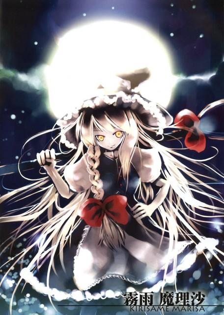 KEI, Moonlight (Artbook), Touhou, Marisa Kirisame