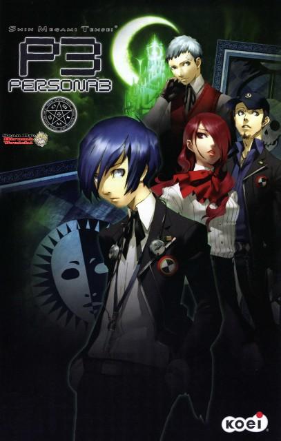 Shigenori Soejima, Shin Megami Tensei: Persona 3, Akihiko Sanada, Mitsuru Kirijou, Minato Arisato
