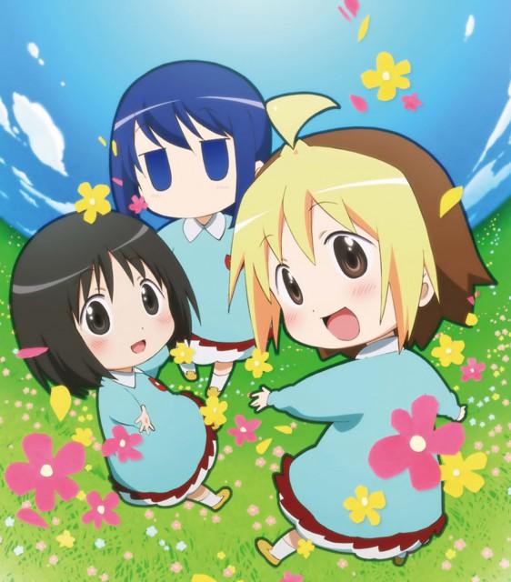 Yuuto, Gainax, Hanamaru Youchien, Hiiragi (Hanamaru Youchien), Koume