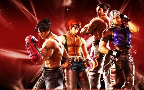 Namco, Tekken, Jin Kazama, Kazuya Mishima, Lee Chaolan Wallpaper
