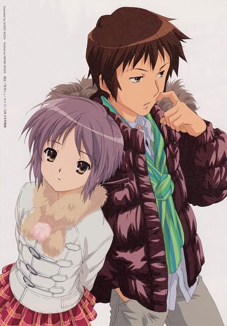 Kyoto Animation, The Melancholy of Suzumiya Haruhi, Kyon, Yuki Nagato