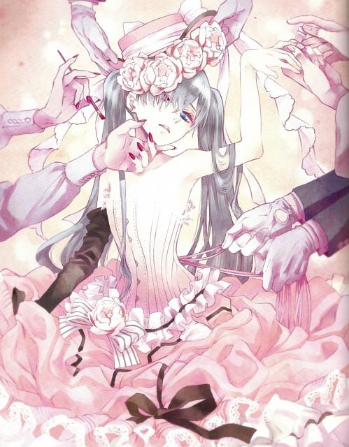 Yana Toboso, Kuroshitsuji, Black Butler Artworks 1, Ciel Phantomhive