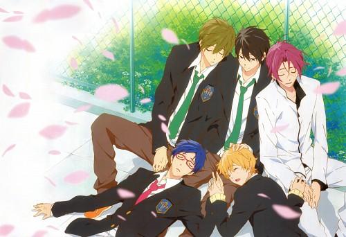 Shinpei Sawa, Kyoto Animation, Free!, Haruka Nanase (Free!), Rin Matsuoka