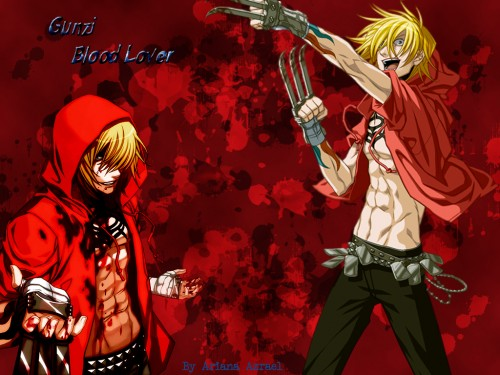 Nitro+, Togainu no Chi, Gunji Wallpaper