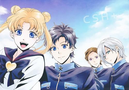 Rainy Day, Bishoujo Senshi Sailor Moon, Seiya Kou, Taiki Kou, Usagi Tsukino