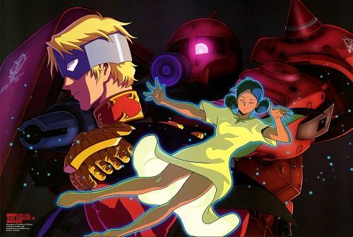 Tsukasa Kotobuki, Sunrise (Studio), Mobile Suit Gundam - Universal Century, Lalah Sune, Char Aznable