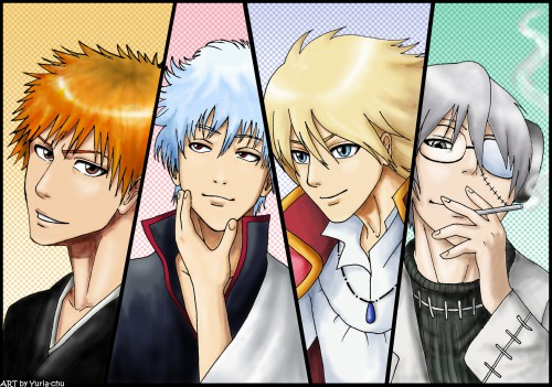 Soul Eater, Gintama, Bleach, Howl's Moving Castle, Howl Jenkins