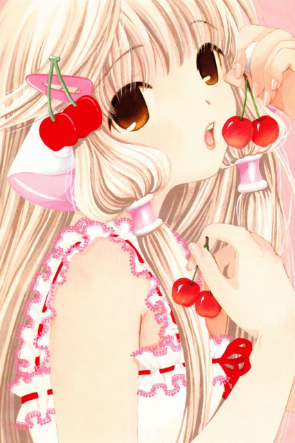 CLAMP, Chobits, Chobits Fan Book, Chii
