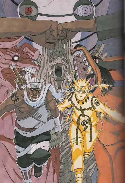 Naruto, Uzumaki (Artbook), NARUTO Illustrations, Naruto Uzumaki, Obito Uchiha