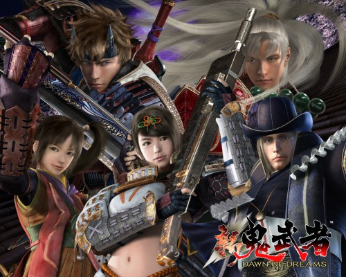 Capcom, Onimusha, Kaijin No Soki, Soki, Official Wallpaper