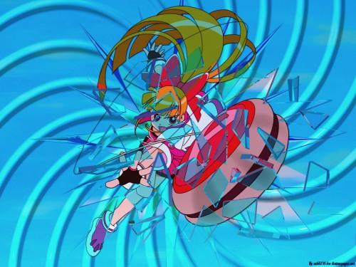 Toei Animation, Powerpuff Girls Z, Hyper Blossom Wallpaper