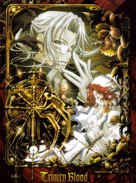 Gonzo, Trinity Blood, Abel Nightroad, Esther Blanchett, DVD Cover