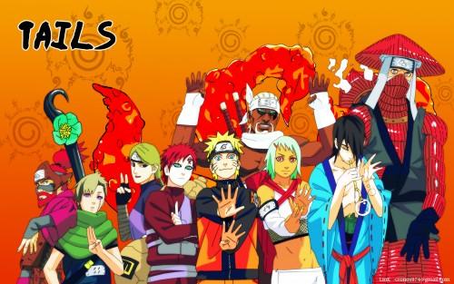 Masashi Kishimoto, Studio Pierrot, Naruto, Utakata, Killer Bee Wallpaper