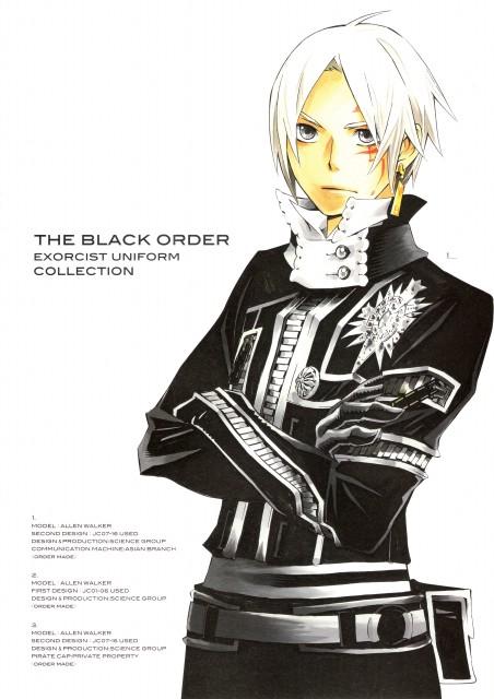 Katsura Hoshino, D Gray-Man, Noche - D.Gray-man Illustrations, Allen Walker