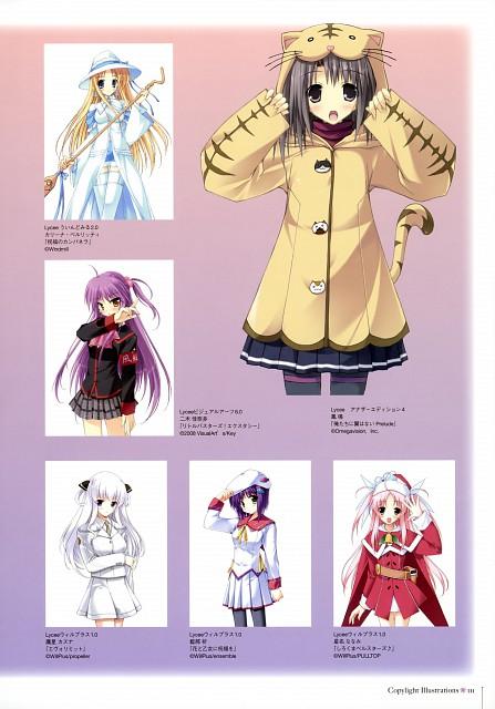 Sou Amane, Fujiwara Warawara, Aoi Nishimata, Shirokuma Bellstars, Hana to Otome ni Shukufuku wo
