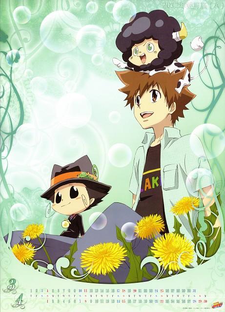 Akira Amano, Artland, Katekyo Hitman Reborn!, Katekyo Hitman Reborn! 2012 Calendar A, Tsunayoshi Sawada