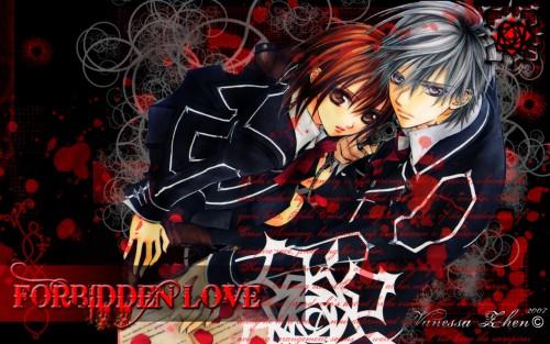 Matsuri Hino, Vampire Knight, Yuuki Cross, Zero Kiryuu Wallpaper