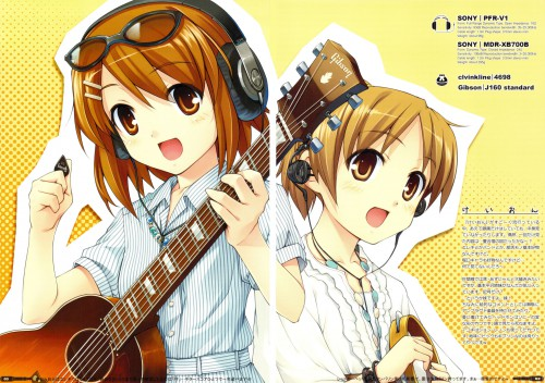 Yuki Hiiro, Kakifly, Kyoto Animation, K-On!, Headglassphon:G