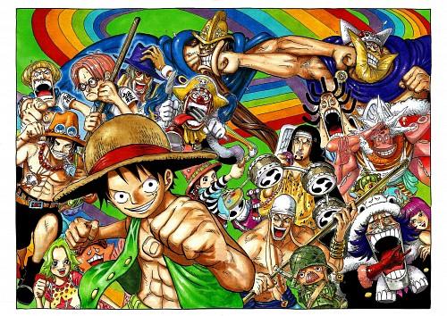 Eiichiro Oda, Toei Animation, One Piece, Color Walk 6 - Gorilla, Portgas D. Ace