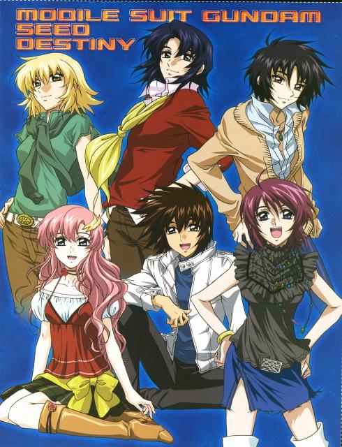 Sunrise (Studio), Mobile Suit Gundam SEED Destiny, Cagalli Yula Athha, Kira Yamato, Lunamaria Hawke