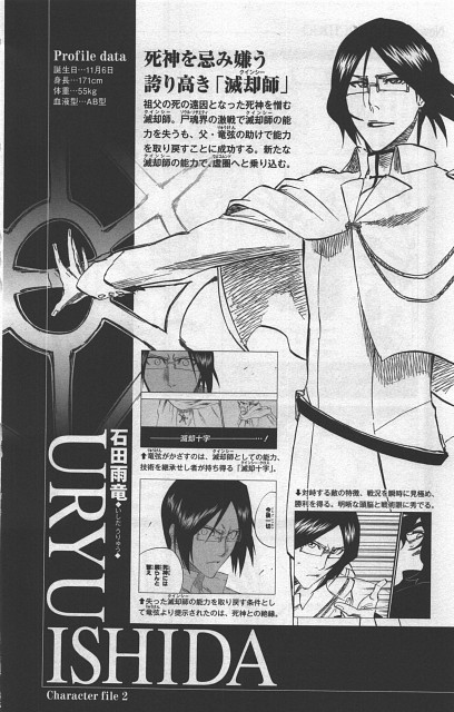 Kubo Tite, Bleach, Uryuu Ishida