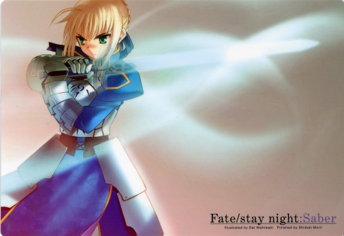 Datto Nishiwaki, TYPE-MOON, Fate/stay night, Saber