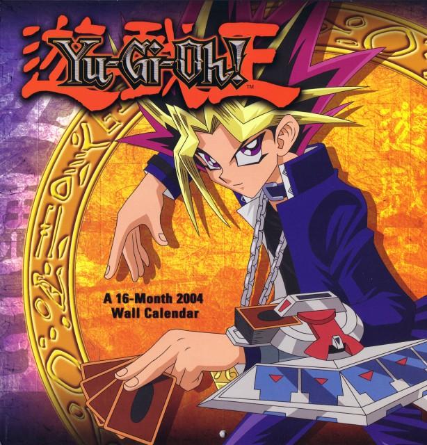 Kazuki Takahashi, Studio Gallop, Yu-Gi-Oh Duel Monsters, Yami Yuugi, Calendar